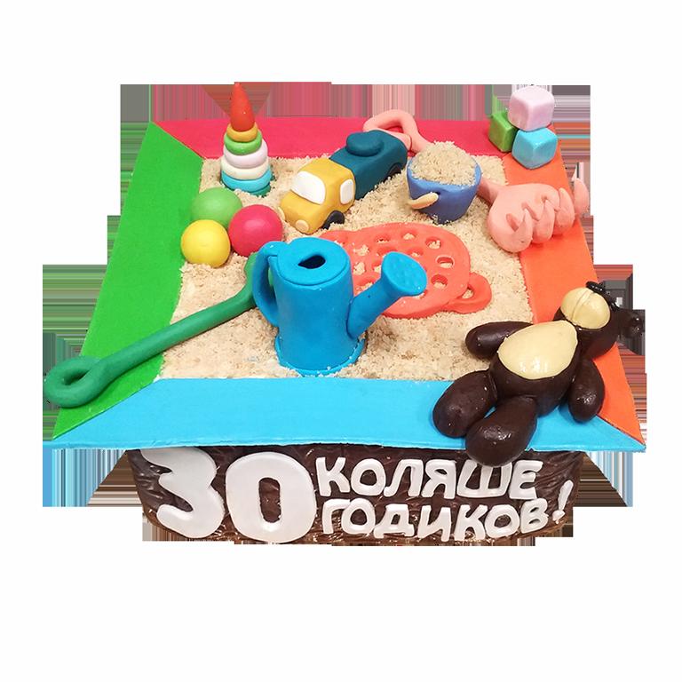 Заказной торт на юбилей