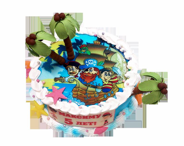 Торт пиратами